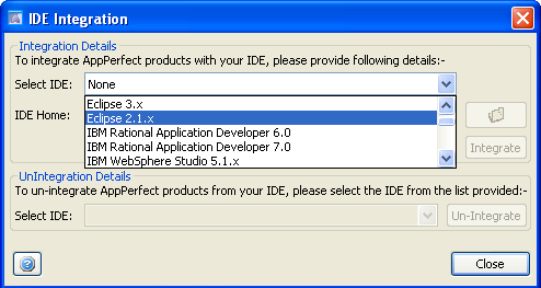 IDE Integration